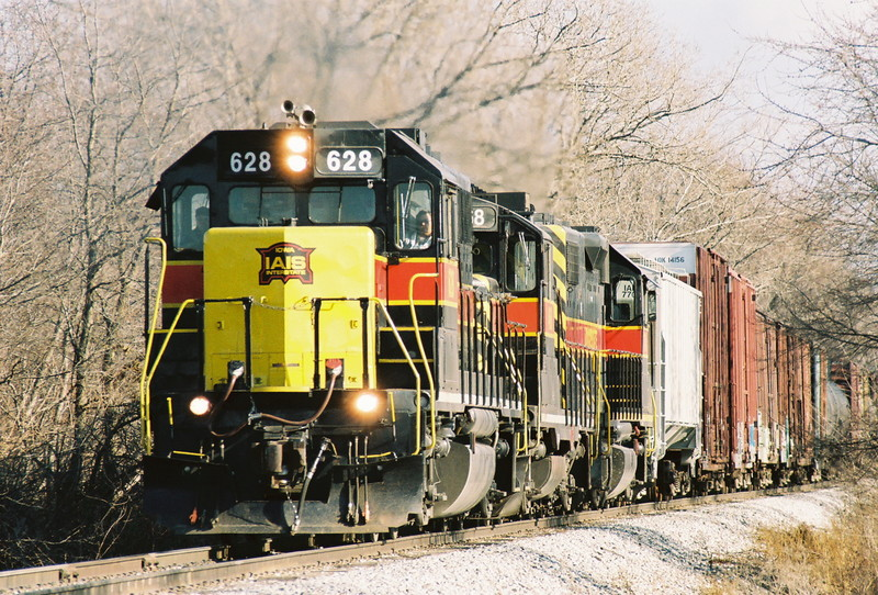 628 on the point of the BICB east of Homestead, Iowa in late November of 2007.