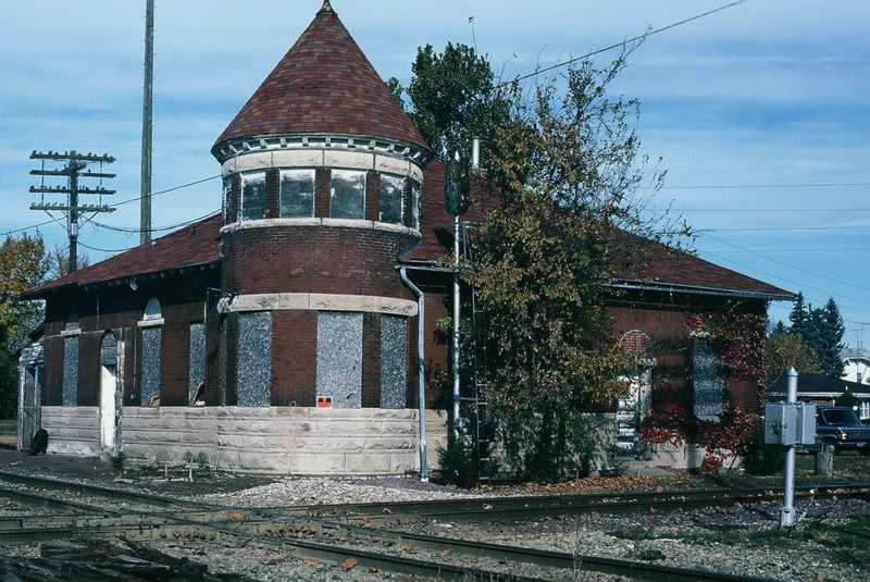 The Rock Island Depot, Grinnell, Iowa. 18-Oct-1987.