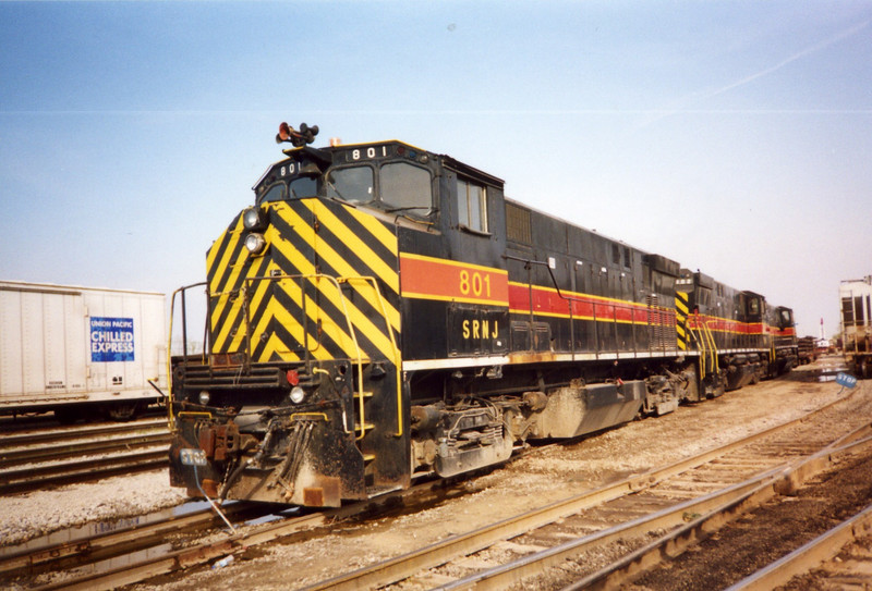 MLWs await transit to their new home, Council Bluffs, April 2005